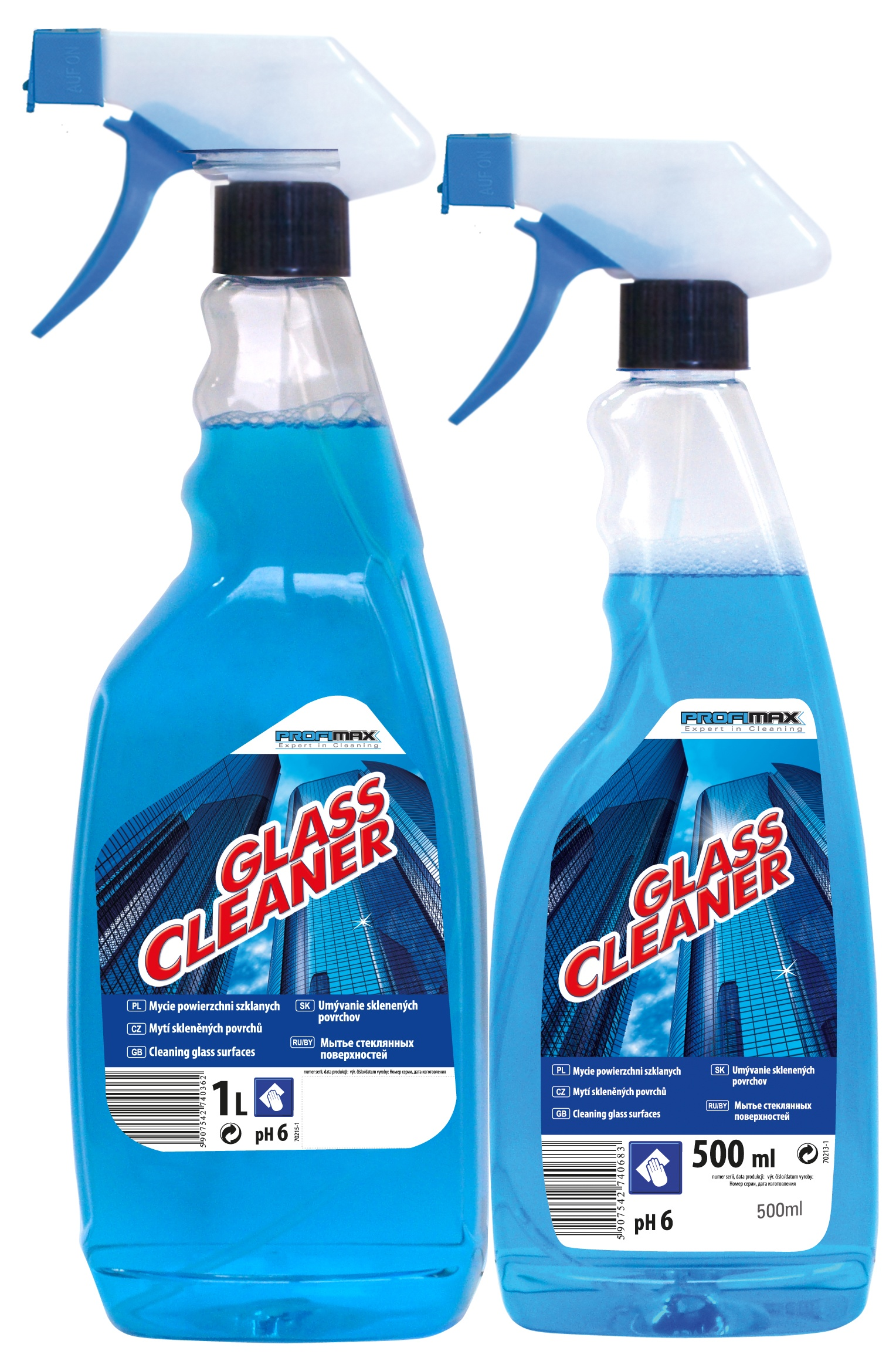 LAKMA GLASS CLEANER Čistič oken